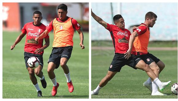 Ricardo Gareca observó con detenimiento los trabajos de la selección peruana Sub 23