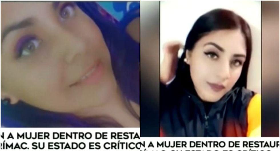 Rímac: joven mujer queda grave tras ser baleada en restaurante