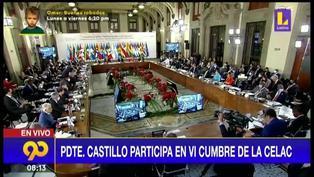 Presidente Pedro Castillo participa en la VI Cumbre de la CELAC en México (VIDEO)