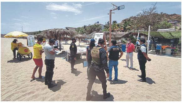 Durante operativo ejecutado por la Policía Nacional del Perú en conjunto con el Ejército, Fiscalía y municipalidad de Contralmirante Villar.