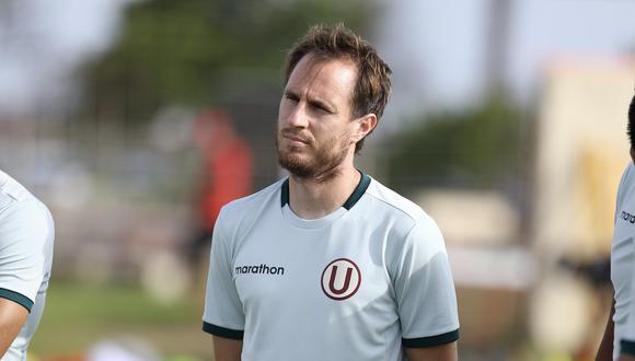 Hernán Novick tiene como objetivo campeonar con Universitario de Deportes en la Liga 1. (Foto: @Universitario)