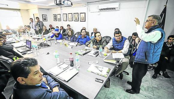 Consejeros proponen comité técnico de acompañamiento a la adenda número 13