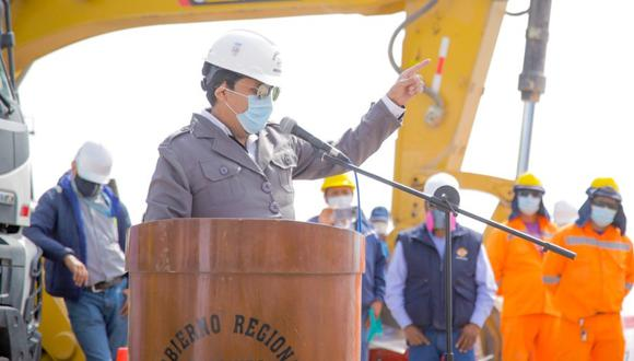 Gobernador de Arequipa, Elmer Cáceres Llica, admite que le gustaría postular a la presidencia del Perú. (Foto: GRA)