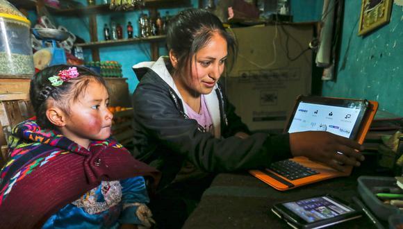 Escolares siguen Aprendo en Casa / Foto: Difusión