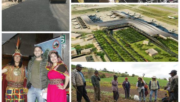 Vea los 4 ejes de desarrollo que generará el aeropuerto de Chinchero en Cusco