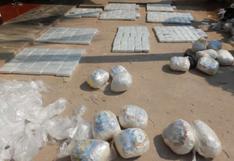 PNP con nuevo récord al decomisar una tonelada con 108.5 kilos de droga