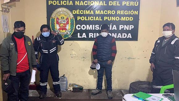 Intervienen a juez de paz por celebrar cumpleaños en pleno estado de emergencia en La Rinconada