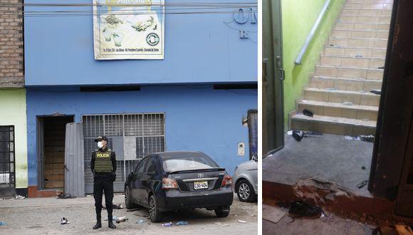 Discoteca Thomas Restobar de Los Olivos solo tenía una puerta de salida desde el segundo piso, donde se desarrollaba la fiesta. (@photo.gec)