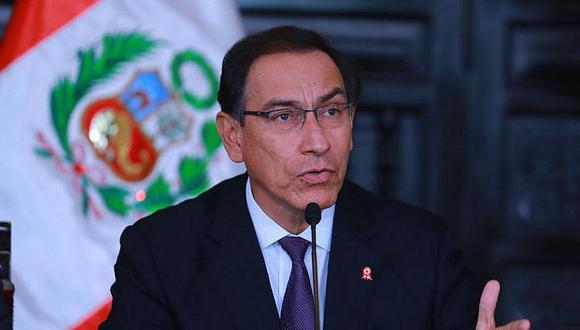"""Presidente Martín Vizcarra: """"Esta semana juramentará el nuevo ministro de Justicia"""""""