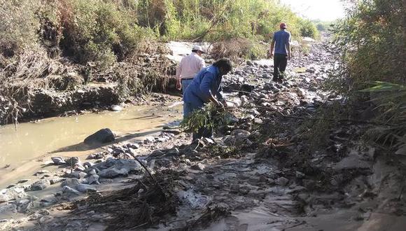 Crecida deja sin agua a sector poblacional de Ilo