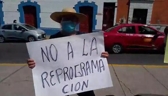 Los clientes de los bancos piden congelar deudas y rechazan la reprogramación| Foto: Soledad Morales