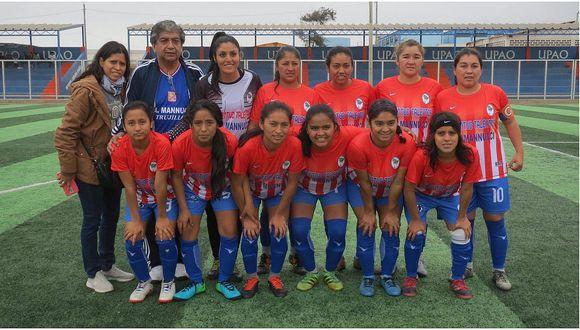 Así marcha la liga de fútbol femenino en Trujillo (FOTO)