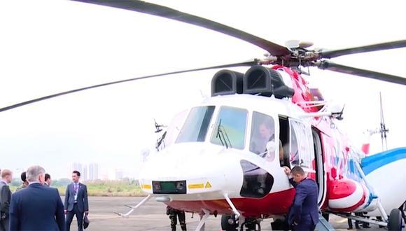 Perú liderará poderío militar con helicópteros rusos