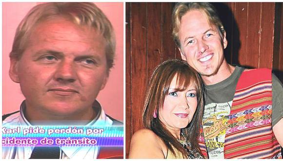 'El gringo Karl' anuncia el fin de su relación con la cantante 'Flor de Huaraz' (FOTOS)