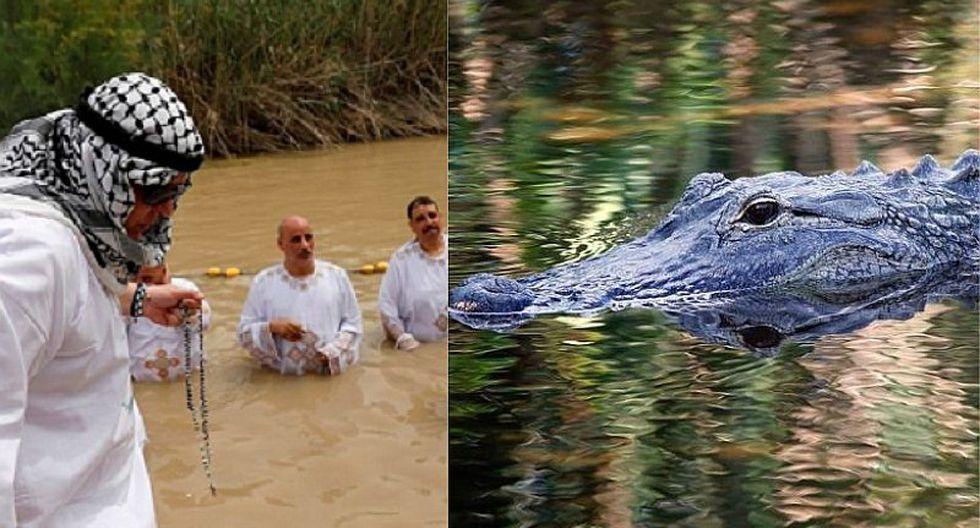 Pastor es atacado por cocodrilo cuando realizaba bautizo