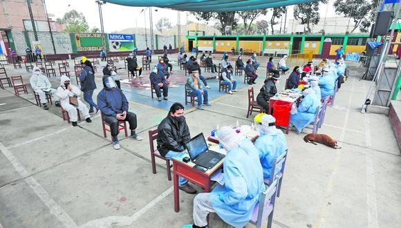 El Minsa informa que los últimos cuatro registros de pacientes contagiados  corresponden a Surco y San Martín de Porres