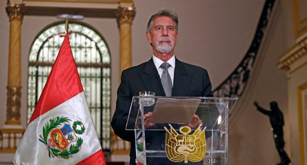 Presidente Francisco Sagasti ofrecerá esta noche su último mensaje a la Nación