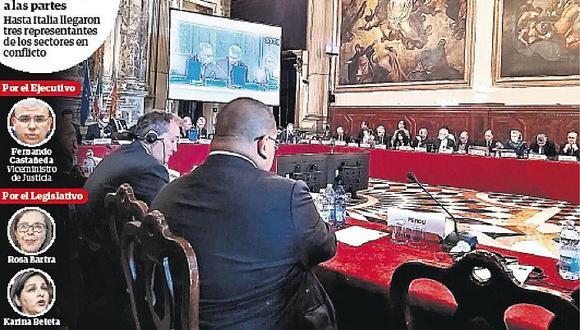 """Comisión de Venecia sobre cuestión de confianza: """"Es inusual"""""""