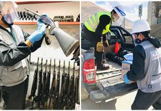 Sucamec incauta armas y más de 4 mil municiones a empresa de seguridad en Tarma