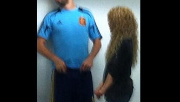 Shakira 'cuadró' a Piqué tras derrota de España