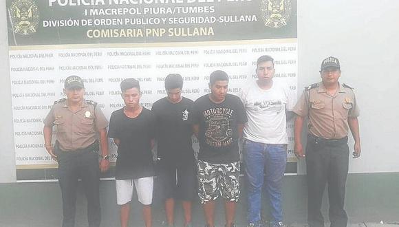 """Cae la banda de """"Los Gatos"""" por robo en Sullana"""
