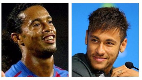 Ronaldinho se pronuncia sobre la llegada de Neymar al PSG