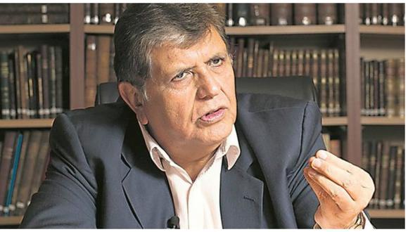 "Alan García pide no ""dramatizar"" amenazas de muerte a Francisco Távara"