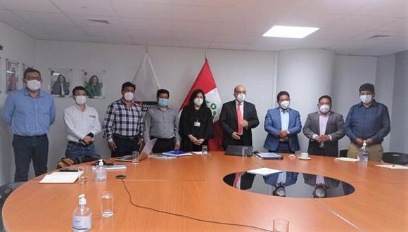 Ministerio del Ambiente, se comprometió a garantizar el presupuesto para los proyectos. (Foto: Difusión)