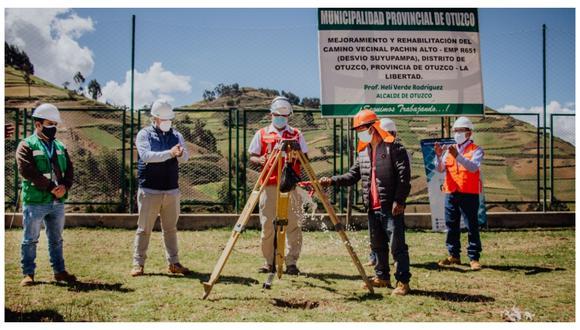 Alcalde provincial Helí Verde confirmó la ejecución del proyecto en beneficio de todos los pobladores.