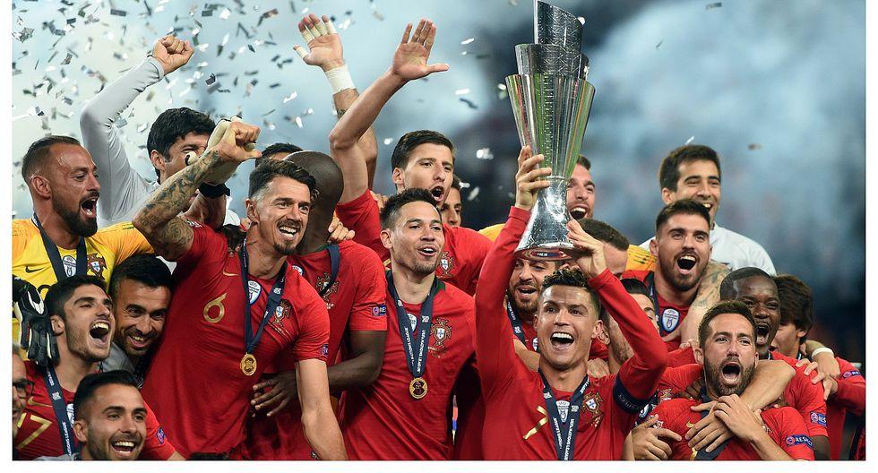 Cristiano Ronaldo con Portugal se proclamó campeón de la Liga de Naciones (VIDEO)