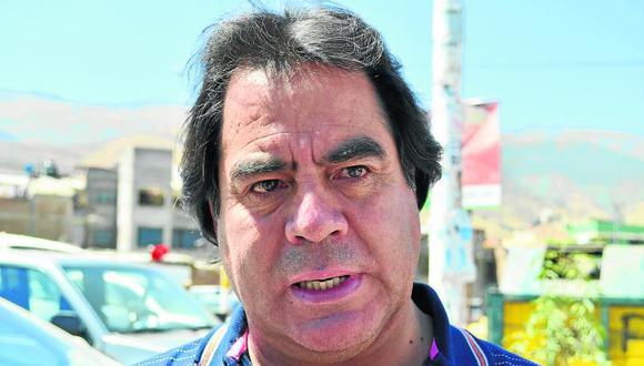 """Alcides Chamorro: """"""""No pagaremos a Diestra si existen observaciones"""""""""""