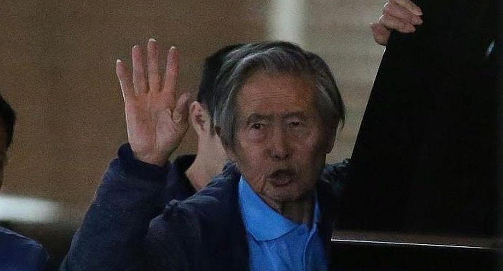 Sala define si Alberto Fujimori cumple comparecencia restringida por caso Pativilca
