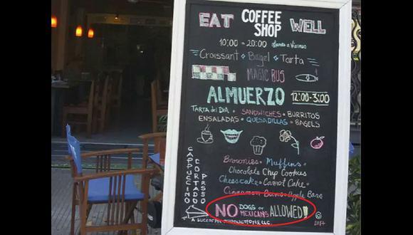 """""""No se admiten perros ni méxicanos"""": el cartel que causó polémica en Uruguay"""