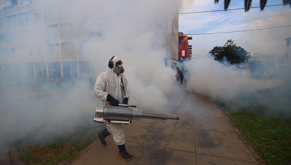 Esta enfermedad requiere de el mantenimiento y conservación de espacios limpios y sin humedad para evitar que se reproduzca el zancudo transmisor. (Foto: HugoCurotto / @photo.gec)