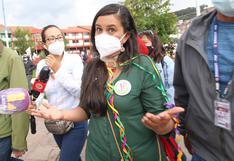 Por segunda vez Policía cancela actividad proselitista de Verónika Mendoza en Cusco