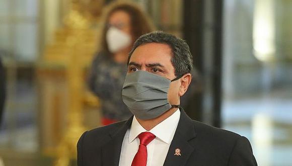 Jorge Montoya renunció al gabinete. (Foto: Presidencia de la República)