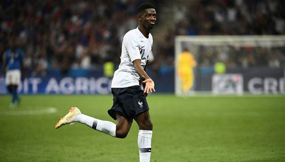 Revive el golazo de Ousmane Dembélé en la victoria de Francia 3-1 ante Italia (VIDEO)