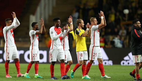 Champions League: Mónaco venció 3-1 al Borussia Dortmund y es semifinalista