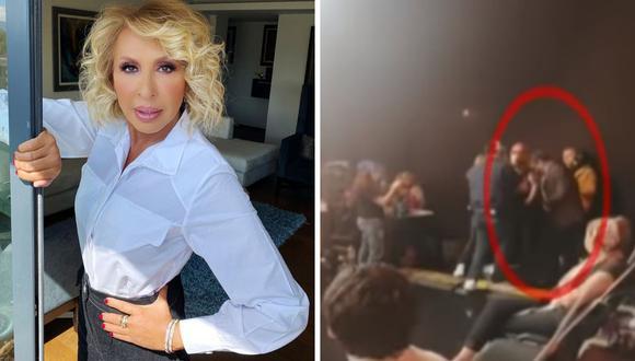Alfredo Adame y Laura Bozzo volvieron a enfrentarse. El actor afirma que iniciará una campaña contra la conductora peruana. (@laurabozo_off / @alfredoadameoficial ).