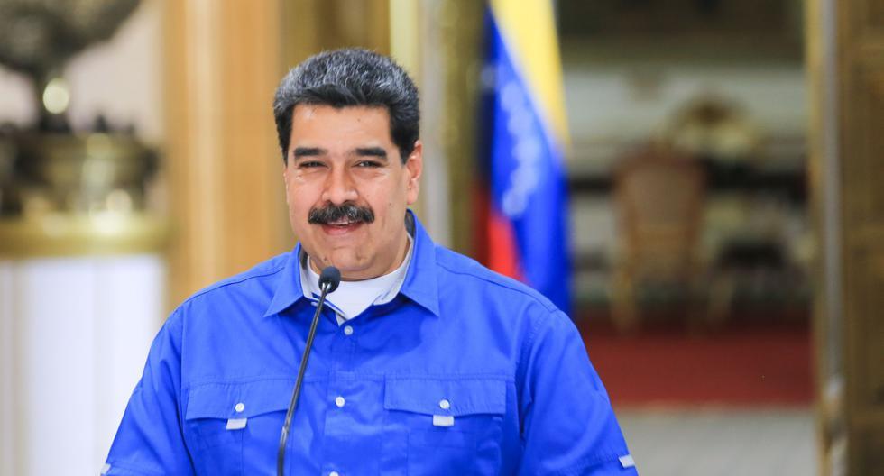 """Nicolás Maduro dice estar """"dispuesto"""" a conversar con Trump. (AFP)."""