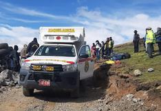 Huancavelica: Conductor extranjero fue rescatado tras estar atrapado 12 horas en el vehículo que se volcó