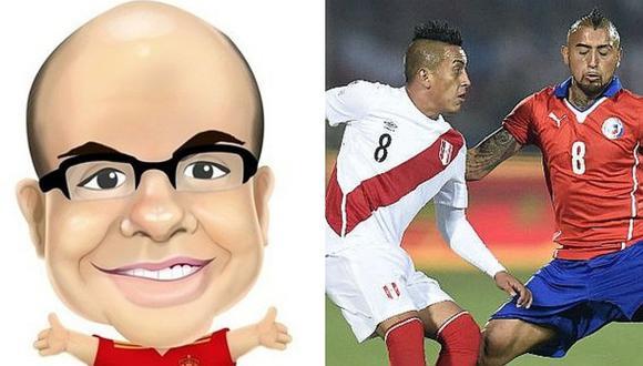 Perú vs. Chile: Conoce al favorito de Mister Chip