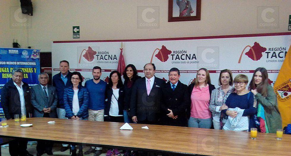 Cirujanos de España operarán a 250 personas de hernias en Tacna
