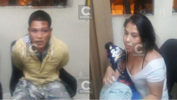 Colectivero y su pareja usaban a su bebé para asaltar (FOTOS y VIDEO)