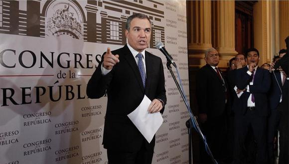 """Del Solar sobre el TC: """"El Congreso debe frenar un procedimiento extrañamente acelerado"""""""
