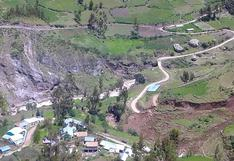 Huancavelica: Deslizamiento de tierras incomunica a 13 comunidades