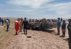 Racha de accidentes deja muertos y heridos en carreteras de Puno