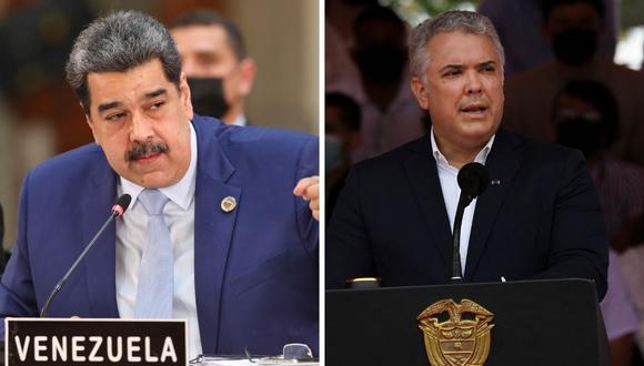 Nicolás Maduro señaló que interpondrán una demanda contra el mandatario colombiano Iván Duque por supuesta xenofobia. (Foto: Juan Barreto / AFP)