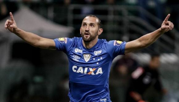Hernán Barcos compartió un mensaje tras confirmarse la contratación a Alianza Lima. (Foto: Cruzeiro)