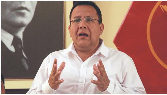 """José Miranda: """"Yo no me arrastré, ni cargué el maletín a nadie"""""""